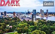 До Белгия, Германия, Холандия и Австрия в края на лятото! 8 нощувки със закуски, плюс самолетен и автобусен транспорт