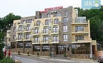 Цяло лято на морето в хотел Торо Негро 3* к.к. Чайка!  Една нощувка със закуска или закуска или вечеря, безпалтно за дете до 5.99г