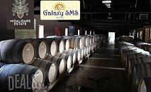1 ден, Стара Загора, винарска изба: транспорт, екскурзовод, 27 лв на човек