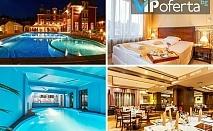 Еднодневен пакет със закуска и вечеря + ползване на външен басейн и СПА в Хотел Шато Монтан, Троян