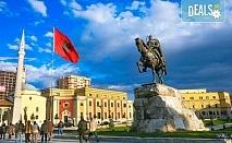 Екскурзия с нощен преход до Дуръс, Албания! 3 нощувки със закуски, обяди и вечери, транспорт и пешеходен тур на Скопие!