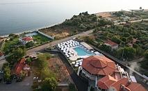 Изгодна почивка в Гърция за една нощувка,закуска и вечеря в хотел Исмарос с частен плаж и открит басейн / 16.09.2017 - 30.09.2017