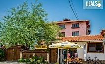 До края на август в Хотел Крайпътен Рай в с.Баня! 1 нощувка със закуска или закуска и вечеря,безплатно настаняване на дете до 6г.