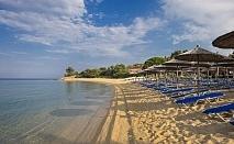 Lagomandra Hotel, Плажът на Lagomendra е като рай на земята, истинска природна красота с един от най-известните плажове на Ситония за една нощувка, закуска и вечеря / 16.09.2017 - 30.09.2017