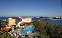 Лятна почивка в Айвалък с опция за ТРАНСПОРТ: 7 нощувки на база закуска и вечеря или на база All inclusive в хотел Halic Park 4+* за 630 лв.