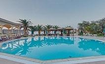 Майски празници в хотел Possidi Holydays Resort - Касандра за една нощувка със закуска, вечеря, открит басейн, безплатен паркинг и интернет / 28.04.- 01.05.2017 или 05.05.-08.05.2017