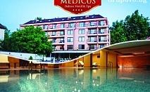 Минерален басейн и СПА в Балнео хотел Медикус, Вършец! Нощувка със закуска за ДВАМА на ТОП ЦЕНИ