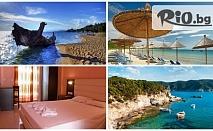 На море в Халкидики през Юли и Август! 5 нощувки, закуски и вечери в Kassandra bay village 2*+, от Космополитън Травъл