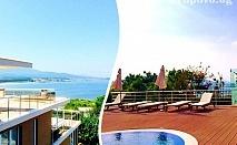 Море на ПЪРВА ЛИНИЯ и на 1 мин. до плажа в Ахтопол. Нощувка за до четирима + басейн от Апартаменти Санта Мария