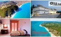На море в Пиерия през Септември със собствен транспорт! 5 нощувки със закуски или закуски и вечери в Хотел Kastri Hotel 3*, от Теско груп