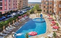 На море в Слънчев бряг на ТОП ЦЕНА! Нощувка със закуска + басейн в хотел Блек Сий