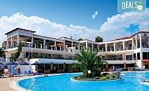 Нощувка на база Закуска и вечеря, Закуска, обяд и вечеря в Alexandros Palace Hotel & Suites 5*, Трипити, Халкидики
