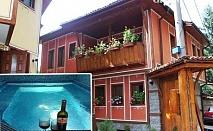 Нощувка със закуска + ТОПЪЛ басейн само за 19.90 лв. в Тодорини къщи, Копривщица
