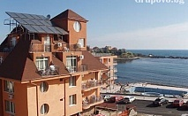 Нощувка + закуска или закуска + вечеря на цени от 24 лв. през цялото лято в хотел Кайлас, Ахтопол
