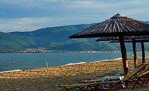 Открийте лятото с една нощувка, закуска и вечеря на 100 метра от пясъчния плаж на Бяло море в хотел Stavros Beach - Халкидики / 25.04.2017 - 10.06.2017