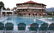 Плащате 4 нощувки, а ползвате 7 нощувки,със закуска,обяд и вечеря в хотел Исмарос- Мароня с безплатни чадър и шезлонги на плажа и басейна в Стая Супериор или Суит / 19.05.2017 -29.05.2017
