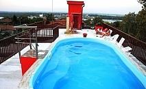 Почивка за ДВАМА в Свищов! Нощувка в студио с джакузи и закуска + басейн с МИНЕРАЛНА вода в хотел При Попа