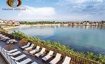 Ранно лято в Созопол! 3 нощувки със закуски за 2, 3 или 4 човека + вътрешен басейн от хотел Корал. Дете до 11.99г. - БЕЗПЛАТНО!