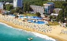 Релакс на брега на морето в Златни пясъци! Нощувка със закуска и вечеря в хотел Лилия****