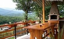 Семейно лято в Априлци! Самостоятелна къщичка за 4 възрастни и 4 деца + басейн и барбекю САМО за 62.90 лв. на вечер!