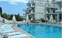 Септември в Гърция на 100м от плажа. 3 нощувки, 3 закуски, 3 вечери + басейн в Olympion Melathron 3* - Платамонас, Олимпийска ривиера