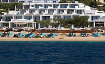 Специално предложение за почивка в Гърция: 1 нощувка със закуска или закуска и вечеря в луксозния Lichonos Beach Hotel 4* за 83 лв.