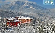 Зимна приказка в хотел Кипарис Алфа 3*, Смолян! 2 или 3 нощувки със закуски и ползване на топъл басейн!