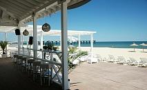 Август в  Шкорпиловци - Лонг Бийч Спа Ризорт 5* за една нощувка на човек с ползване на  басейн, шезлонги и чадъри на плажа и детски кът /01 Август до 20 Август 2018 год.