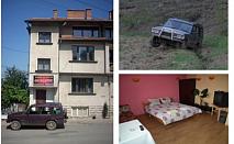 Белоградчишките скали Kъща за гости ДРАКИТЕ предлага нощувка и приключение с разходка с джип за ДВАМА с пакет по избор край Белоградчишките скали с 30% отстъпка!