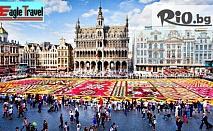 Брюксел - Сърцето на Европа! 549 лв. за 4-дневна екскурзия - 3 нощувки, 3 закуски + самолетен транспорт и тур с панорамен автобус от Eagle Travel