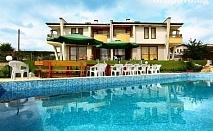 Цяло лято край Приморско в една от трите ни самостоятелни къщи с басейн, барбекю и още много удобства в комплекс Хубавото място!