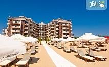 Цяло лято на море в Хотел Голдън Ина, Слънчев Бряг! Нощувка на база All Inclusive, ползване на открит басейн с чадъри и шезлонги, безплатно настаняване за дете до 5.99 г.