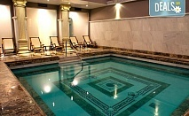 Делнична СПА почивка в Хотел Белчин Гардън 4* в Белчин! 1 или 2 нощувки със закуски или закуски и вечери, ползване на римска баня, финландска сауна, парна баня, топла релакс пейка и СПА процедура за Него и за Нея