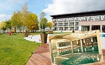 Делник в Белчин Баня! 2, 3 или 4 нощувки със закуски за ДВАМА + закрит басейн с минерална вода и СПА пакет от хотел Белчин Гардън****