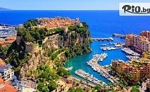 7-дневна автобусна екскурзия до Венеция, Мантон, Антиб, Ница, Кан, Монако и Флоренция. 4 нощувки със закуски, автобусен транспорт и водач , от ABV Travels