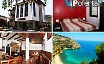 Двудневен пакет със закуски и вечери + посещение на плаж в Гърция от  къща за гости Вила Белавида***, Златоград