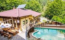 Една или две нощувки на човек със закуски и вечери + минерален басейн и релакс зона от семеен хотел Алфаризорт Парк, с. Чифлик