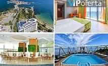 Еднодневен пакет със закуска в двойна стая или апартамент + басейн на покрива в Хотел Сол Марина Палас, Несебър
