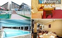Еднодневен пакет със закуска и вечеря или закуска, обяд и вечеря + ползване на минерален басейн и СПА в Хотел Селект, Велинград