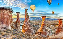 Екскурзия до Анкара, Кападокия, Коня и Истанбул през 2019-та с Караджъ Турс! 5 нощувки, 5 закуски и 4 вечери, транспорт, посещения в Анкара, Коня, Истанбул и Одрин!