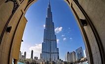 Екскурзия до Дубай, дати от октомври до декември! Полет от София + 4 нощувки на човек + закуски и вечери в хотел Rose Park Al Barsha 4*  + тур на Дубай + круиз + сафари в пустинята!