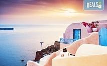 Екскурзия до о. Санторини, Гърция, с Дари Травел! 4 нощувки със закуски в хотел 3*, транспорт, панорамна обиколка и посещение на Ия