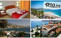 Екскурзия до Саранда, Албания! 7 нощувки със закуски и вечери в хотел Saranda International 4* + автобусен транспорт, от ВИП Турс