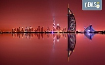 Екзотика в Дубай! 4 нощувки със закуски и вечери в хотел Ibis Al Barsha 3*, самолетен билет, вечеря на арабската галера Дубай Марина и сафари в пустинята