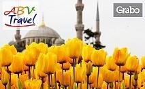 За Фестивала на лалето в Истанбул! 4 нощувки със закуски, плюс транспорт и посещение на парка Емирган и Одрин