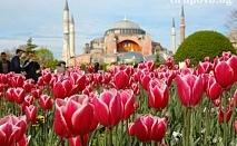 Фестивалa на лалето в Истанбул! Транспорт + 3 нощувки на човек със закуски и богата туристическа програма от АБВ Травелс