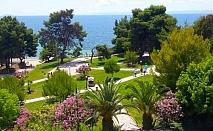 В Гърция през Май и Юни на 30м. от плажа! 2 All Inclusive Light нощувки + басейн в Golden Beach Metamorfosi 3*, Халкидики!
