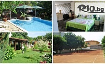 Изгодна почивка край Албена! Нощувка със закуска или със закуска и вечеря + басейн и БОНУС, от Хотелски комплекс Рай 3*