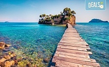 Изпратете лятото с приказна почивка на остров Закинтос - перлата на Йонийско море! 4 нощувки със закуски и вечери, транспорт, фериботни такси и водач от Анатравел!