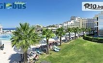 Късно лято в Кушадасъ! 5 или 7 нощувки на база ULTRA All Inclusive в Sea Light Resort Hotel 5*, със собствен транспорт, от Глобус Холидейс